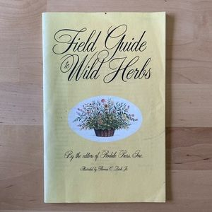 1993 FIELD GUIDE TO WILD HERBS 🌾